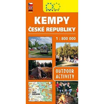 Kempy ČR 1:800 000 (978-80-7233-436-0)