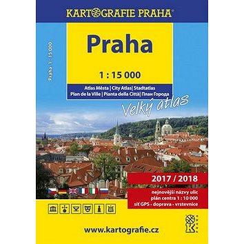 PRAHA velký atlas města 1:15 000 (978-80-7393-408-8)