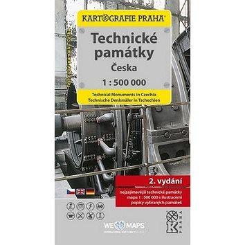 Technické památky Česka: 1:500 000 tematická mapa (978-80-7393-402-6)