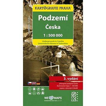 Podzemí Česka 1:500 000: Tematická mapa (978-80-7393-403-3)