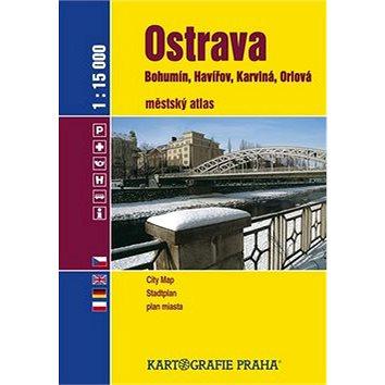 Ostrava 1:15000: Bohumín, Havířov, Karviná, Orlová (978-80-7011-961-7)