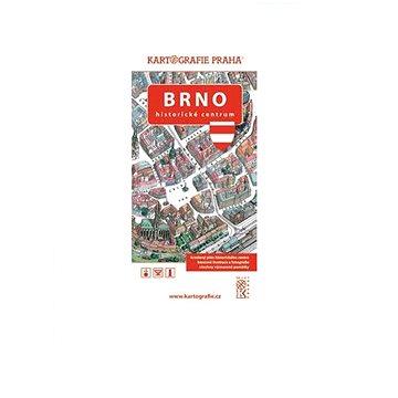 Brno Historické centrum: Kreslený plán města (978-80-7393-305-0)