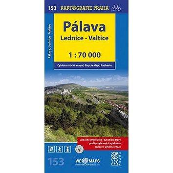 Pálava, Lednice-Valtice 1:70 000: cyklomypa (978-80-7393-377-7)