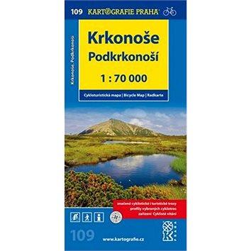 Krkonoše, Podkrkonoší 1:70 000: cyklomapa (978-80-7393-316-6)