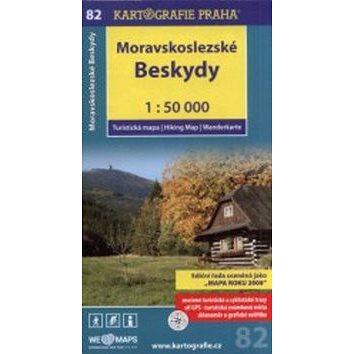 Moravskoslezské Beskydy 1:50 000: turistická mapa (978-80-7393-374-6)