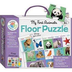 Puzzle pro nejmenší Zvířátka BOX (978-80-242-5714-3)
