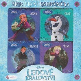 Ledové království Moje první knihovnička: Anna, Olaf, Kristoff, Lisa (978-80-252-3885-1)