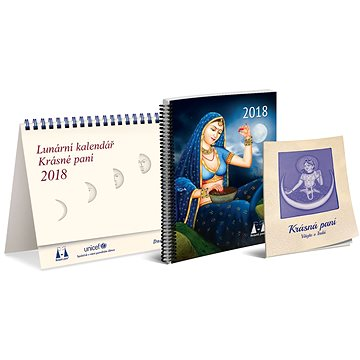 Lunární kalendář Krásné paní 2018 (9788075310132)