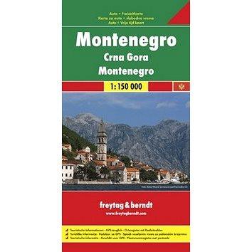 Černá Hora 1:150 000 (9783707910599)