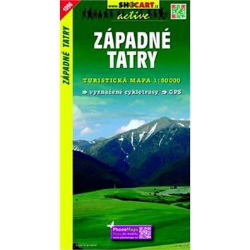 Západné Tatry: Turistická mapa 1:50 000 (978-80-7224-474-4)