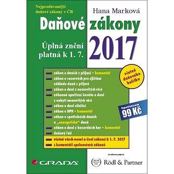 Daňové zákony 2017: Úplná znění platná k 1. 7. 2017 (978-80-271-0493-2)