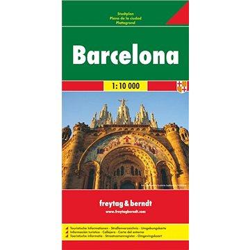 Barcelona 1:10 000 (9783707907100)