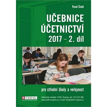Učebnice Účetnictví 2017 - 2. díl (978-80-88221-05-0)