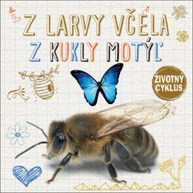 Z larvy včela Z kukly motýľ: Životný cyklus (978-80-567-0150-8)