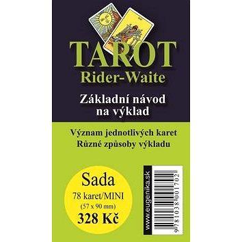 Tarot Rider - Waite: Základní návod na výklad + sada karet (9781038001702)