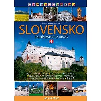 Slovensko: Zaujímavosti a krásy (978-80-89850-38-9)