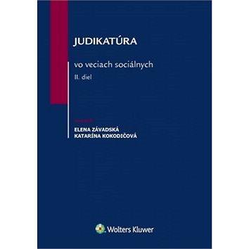 Judikatúra vo veciach sociálnych II. diel (978-80-8168-628-3)