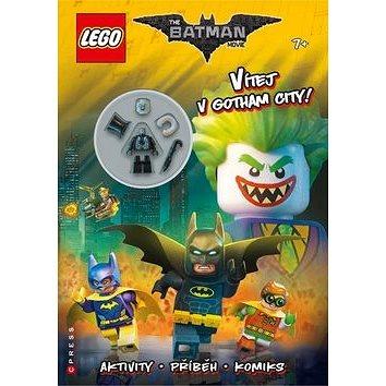 LEGO Batman Vítejte v Gotham City!: Aktivity, příběhy, komiks a minifigurka (978-80-264-1521-3)