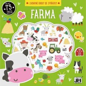 Farma Zábavné úkoly se zvířátky: Více než 75 pěnových samolepek (8595593813752)