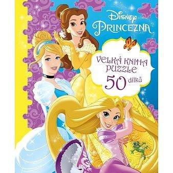 Princezna Velká kniha puzzle: Velká kniha puzzle 50 dílků (978-80-252-3985-8)