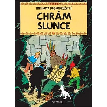 Tintin Chrám Slunce (978-80-00-04656-3)