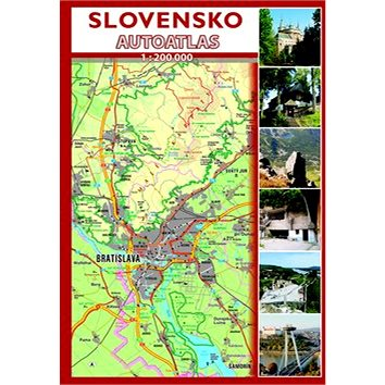 Slovensko Autoatlas 1 : 200 000 (978-80-89558-37-7)