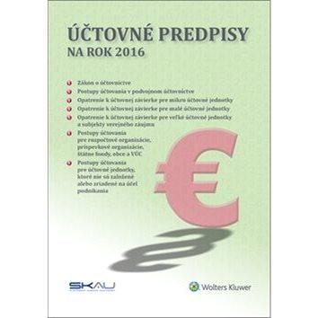 Účtovné predpisy na rok 2016 (978-80-8168-409-8)