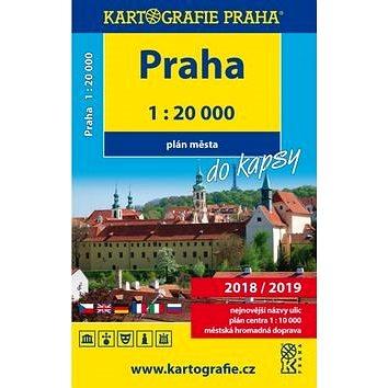 Praha do kapsy 1:20 000: Plán města (978-80-7393-455-2)