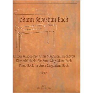 Knížka skladeb pro Annu Magdalenu Bachovou: výběr (979-0-2601-0699-4)