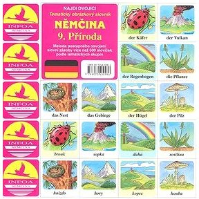 Němčina 9. Příroda: Tematický obrazový slovník (80-7240-098-3)
