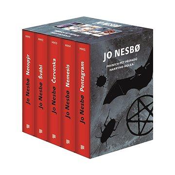 JO NESBO Prvních pět případů Harryho Holea BOX: Netopýr, Švábi, Červenka, Nemesis, Pentagram (978-80-7473-602-5)