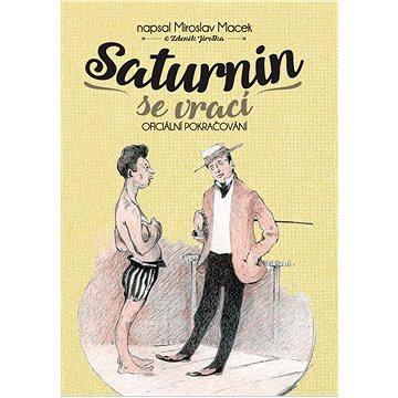 Saturnin se vrací: Oficiální pokračování (978-80-7505-836-2)