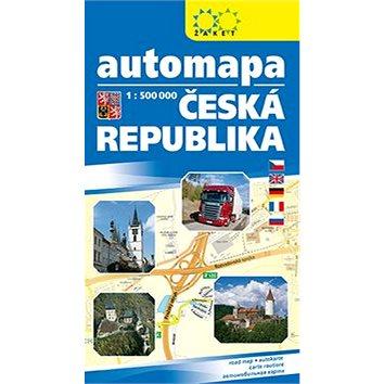 Automapa Česká republika: 1: 500 000 (978-80-7233-453-7)