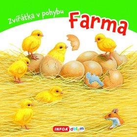 Zvířátka v pohybu Farma (978-80-7547-132-1)
