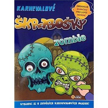 Karnevalové škrabošky Zombie (8592257006444)