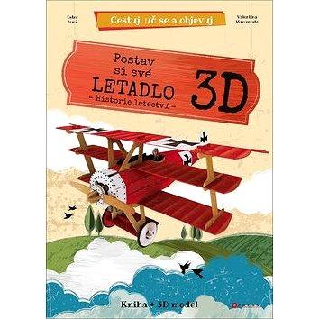 Postav si své letadlo 3D: Historie letectví, kniha + 3D model (8594050423411)