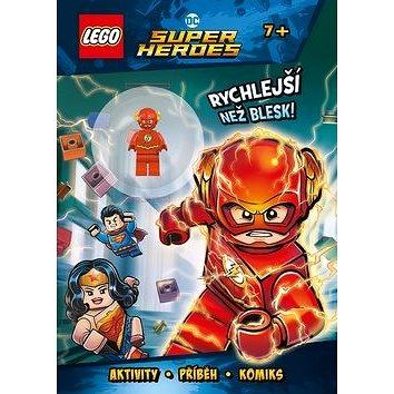LEGO DC Super Heroes Rychlejší než blesk!: Aktivuiy, příběhy, komiks (978-80-264-1786-6)