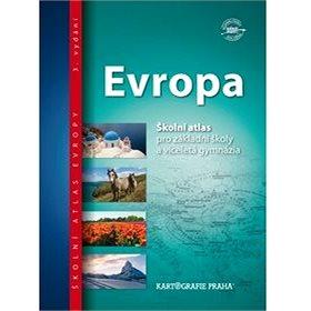 Evropa školní atlas: pro základní školy a víceletá gymnázia (978-80-7393-373-9)