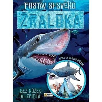 Postav si svého žraloka bez nůžek a lepidla: Model je dlouhý 48 cm (978-80-7567-067-0)