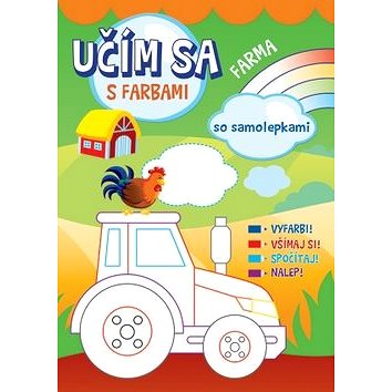 Farma so samolepkami: Učím sa s farbami (978-80-567-0206-2)