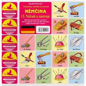 Němčina 13.Nářadí a nástroje: Tématický obrazový slovník (80-7240-106-8)