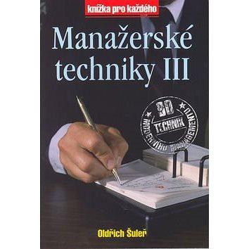 Manažerské techniky III (80-85839-90-3)