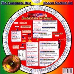 Anglická slovesa 1 a 2 + CD: Otočná mapka (80-86323-43-9)