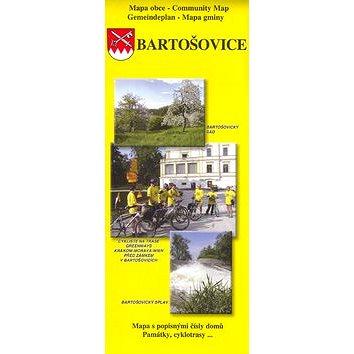 Bartošovice: Mapa s popisnými čísly domů, památky, cyklotrasy... (80-86486-39-7)