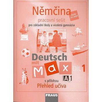 Němčina Deutsch mit Max A1/díl 1: Pracovní sešit pro Základní školy a víceletá gymnázia (80-7238-532-1)