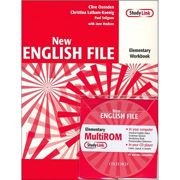 New English file elementary Workbook Key + CD ROM pack (01-943876-4-X)