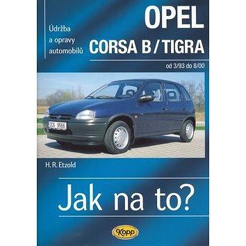 Opel Corsa B/Tigra od 3/93 - 8/00: Údržba a opravy automobilů č. 23. (80-7232-192-7)