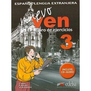 Ven nuevo 3: Pracovní sešit + CD (84-7711-856-6)