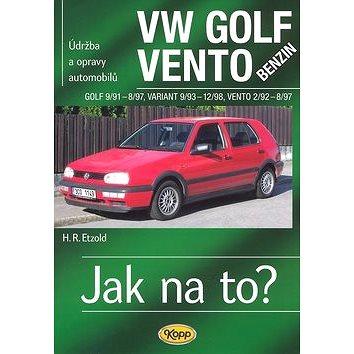 VW Golf benzin 9/91 - 8/97, Variant 9/93 - 12/98, Vento 2/92 - 8/97: Údržba a opravy automobilů č.19 (80-7232-320-2)