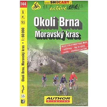 Okolí Brna Moravský kras 1:60 000: 144 cykloturistická m. (80-7224-548-1)